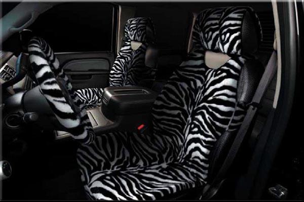 меховые накидки зебра