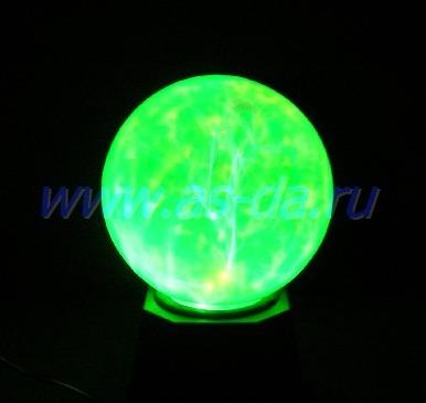 плазменный шар зеленый