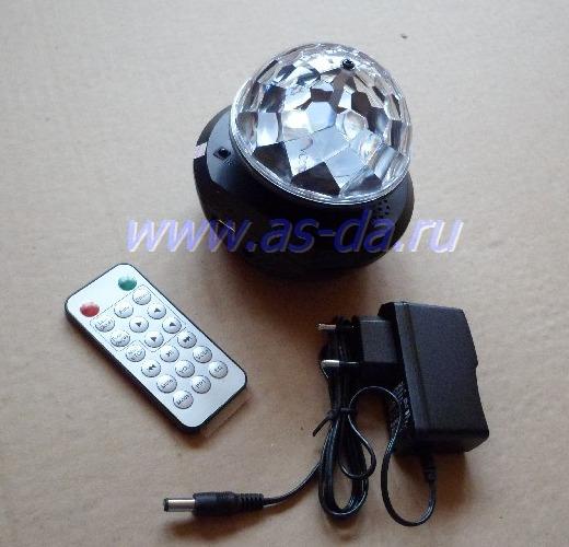 диско лампа с мп3